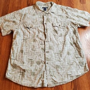 Mens Tropical Shirt
